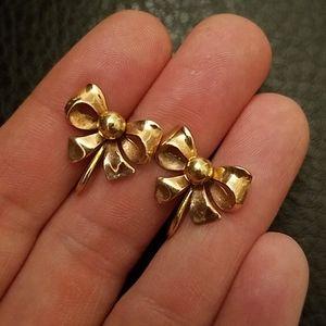 VTG 12K GF Van Dell screw-back earrings